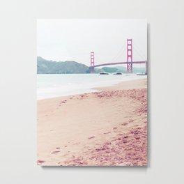 San Francisco Treat Metal Print