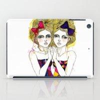 gemini iPad Cases featuring Gemini by D.U.R.A