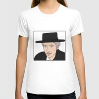 bob dylan T-shirts featuring Bob Dylan by Whiteland
