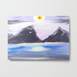 Winter Solstice Metal Print