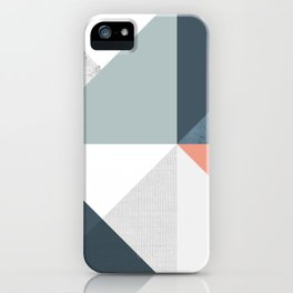 Modern Geometric 12 iPhone Case