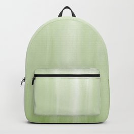 Cozy Green 1 - Abstract Art Series Backpack