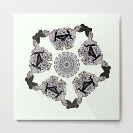 MIU MIA HEADS Metal Print