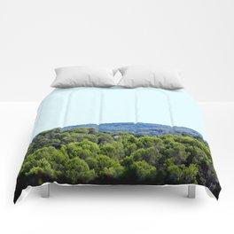 Ocean Green Comforters