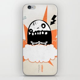 Mr wideo1 iPhone Skin