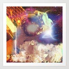 Spacer Art Print