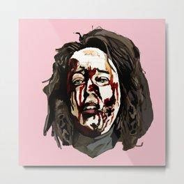 Bloody Annie Wilkes - Misery (Pink) Metal Print