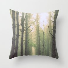 Obscurity Throw Pillow