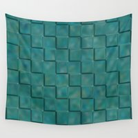 trippy Wall Tapestries featuring Trippy Tiles by LLL Creations