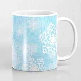 Snowflakes - Blue Coffee Mug