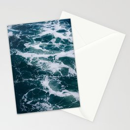 Ocean Marble #texture Stationery Cards