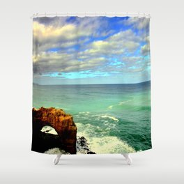 The Arch - Australia Shower Curtain