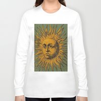 tarot Long Sleeve T-shirts featuring Sun Tarot by phantastique