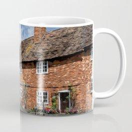 Old Cottages In Tewkesbury Coffee Mug