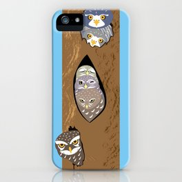 Tree hollows iPhone Case