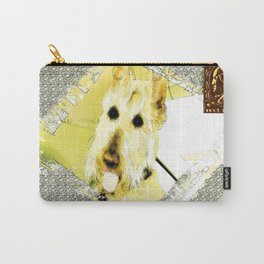 Wheaten Scottish Terrier - During Sickness and Health Carry-All Pouch