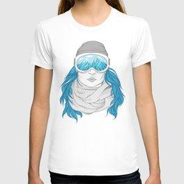 snowboarder girl T-shirt