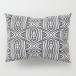 B&W #1, Interlacing pattern Pillow Sham