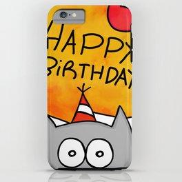 Happy Birthday - Pelusa iPhone Case
