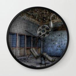 Hospital horrors Wall Clock