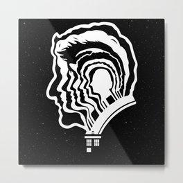 12 Doctor Who Metal Print