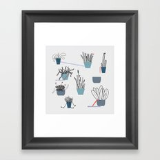 TIME TO PLANT Framed Art Print
