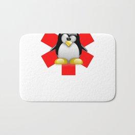 Linux Tux Emergency Bath Mat