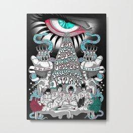 Alexander DeLarge Metal Print