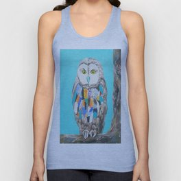 Imaginary owl Unisex Tank Top