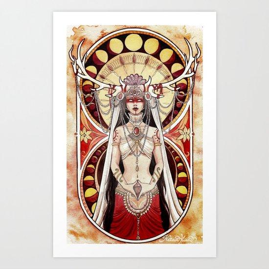 Yoni Art Print