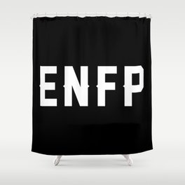 ENFP Shower Curtain