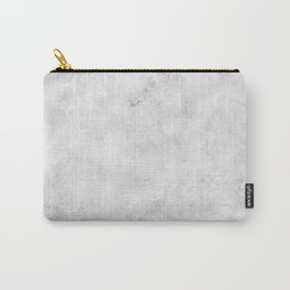 GRAY MARBLE Texture Carry-All Pouch