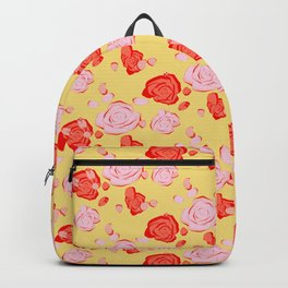 Roses pattern 3b Backpack