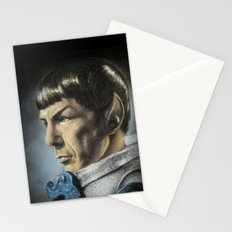 Spock - The Pain of Loss (Star Trek TOS) Stationery Cards