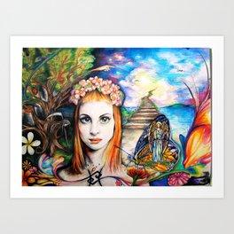 Cusp of Magic Art Print