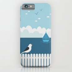 Sitting on the Fence iPhone 6 Slim Case