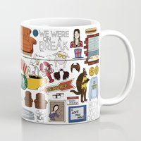 collage Mugs featuring Collage by Loverly Prints