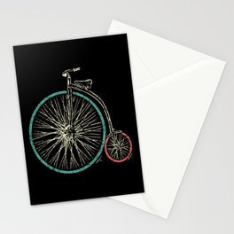 Cycling Forever | Penny Farthing High Wheel Stationery Cards
