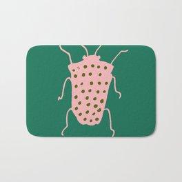 Beetle green Bath Mat