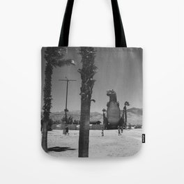 Cabazon T-Rex Tote Bag