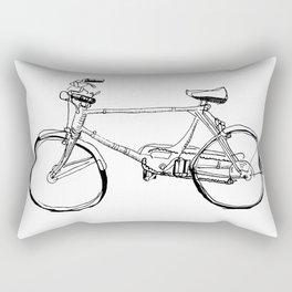 Cruiser Bicycle Rectangular Pillow