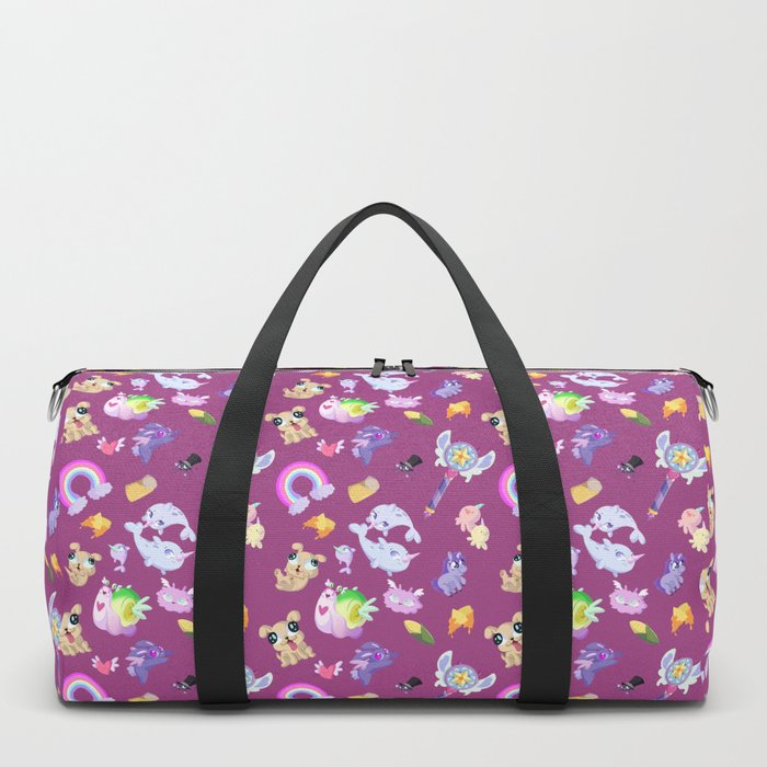 Star vs the Forces of Evil Pattern ( Pink ) Duffle Bag by ... 627909d2d03b9