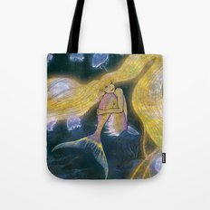 Glowing Maiden Tote Bag