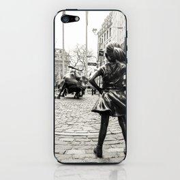 Fearless Girl & Bull - NYC iPhone Skin