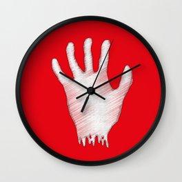 My left hand Wall Clock