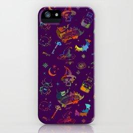 Magic symbols iPhone Case