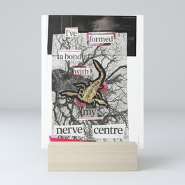 Nerve Wracking Mini Art Print