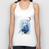 jack frost Tank Tops featuring Jack Frost by cynamon