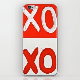 LOVE, HUGS AND KISSES iPhone Skin