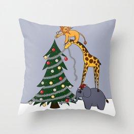 O Christmas Team Throw Pillow